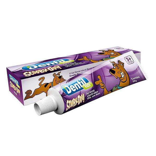 Gel Dental Dentil Scooby-Doo Uva c/ Flúor 50g