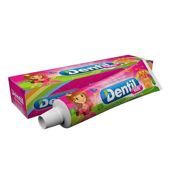 Gel Dental Dentil Kids Tutti Frutti c/ Flúor 50g