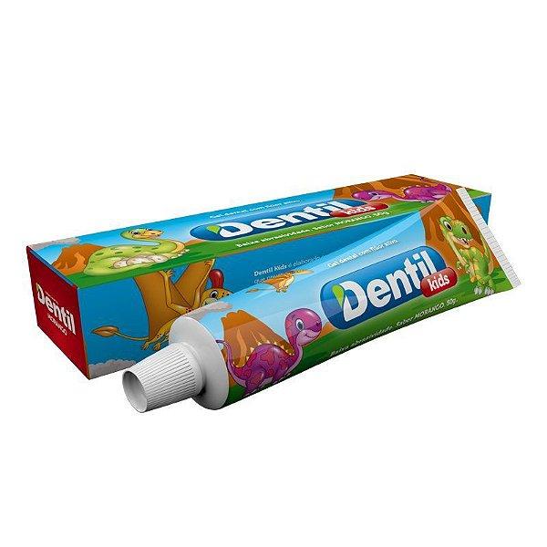 Gel Dental Dentil Kids Morango c/ Flúor 50g