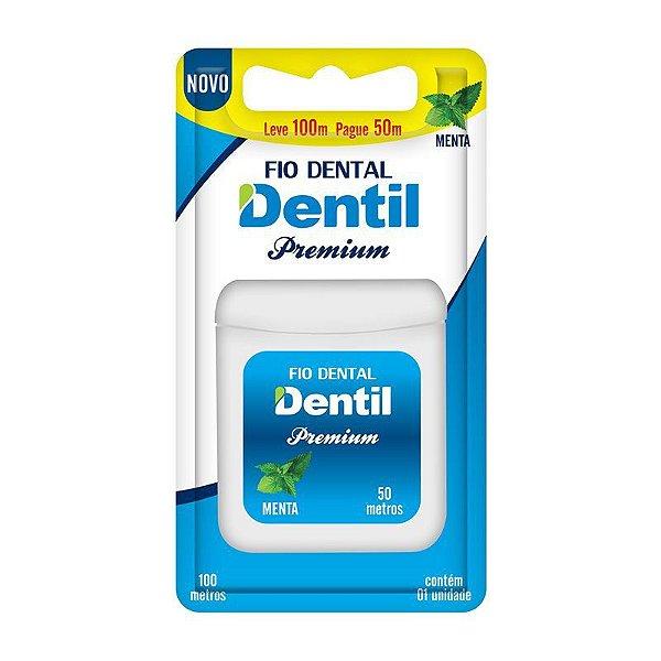 Fio Dental Dentil Premium Leve 100 Pague 50 metros