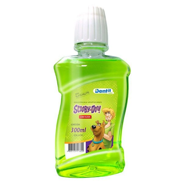 Enxaguante Bucal Dentil Scooby-Doo 300ml