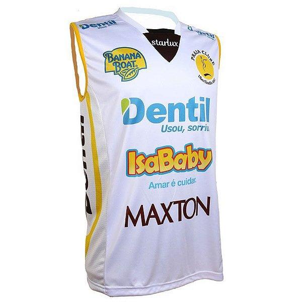 Camiseta Dentil/Praia Clube 2019/2020 – Branca – Sem Mangas Unissex