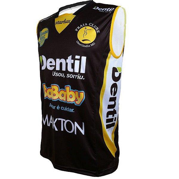 Camiseta Dentil/Praia Clube 2019/2020 – Preta – Sem Mangas