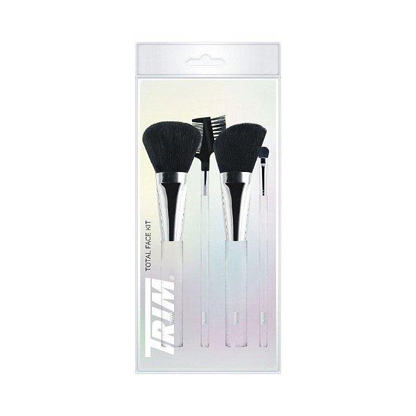 Kit Trim Maquiagem para Face