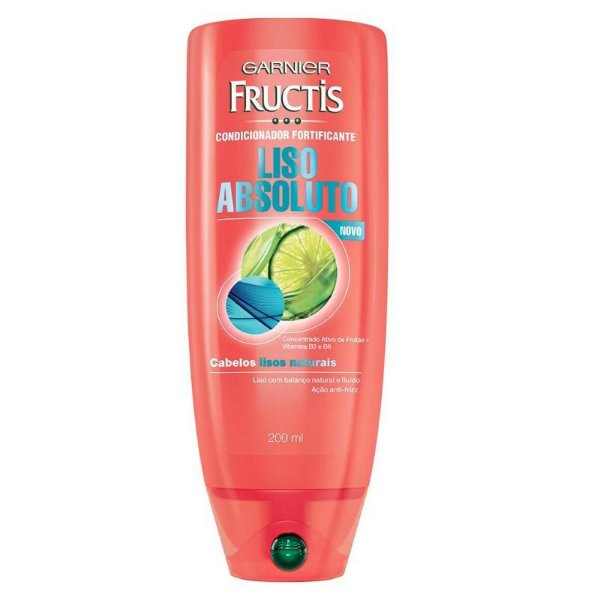 Condicionador Fructis Liso Absoluto 200ml