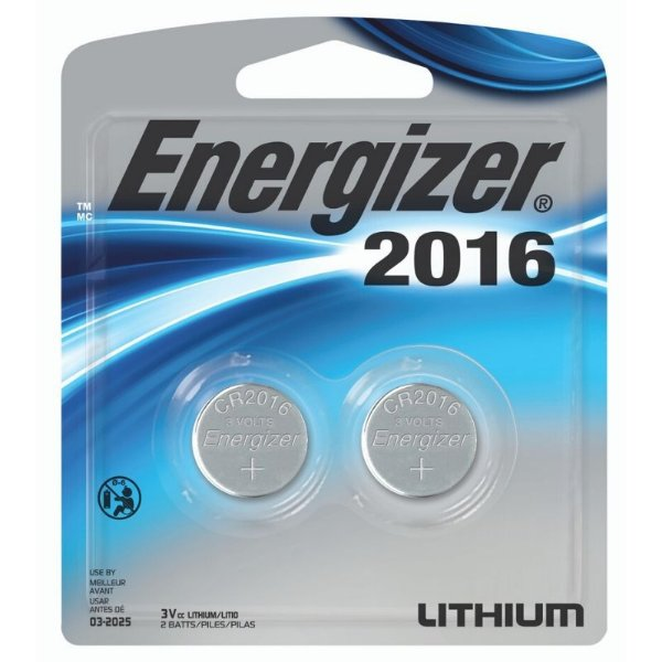 Bateria Energizer 2016 Lithium