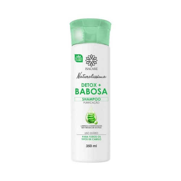 Shampoo Isacare Detox Babosa 350ml