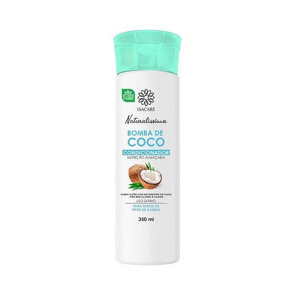 Condicionador Isacare Bomba de Coco 350ml
