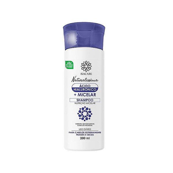 Shampoo Isacare Micelar + Ácido Hialurônico 200ml