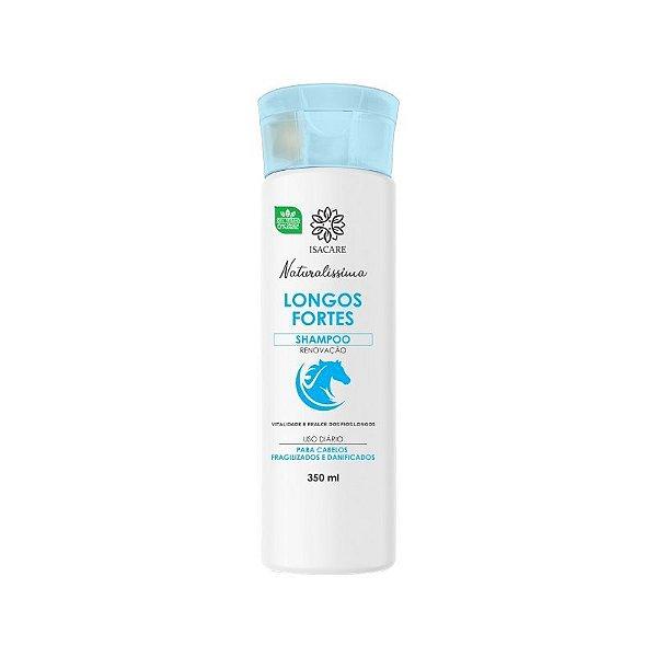 Shampoo Isacare Longos Fortes 350ml (Vitalidade e Realce dos Fios)