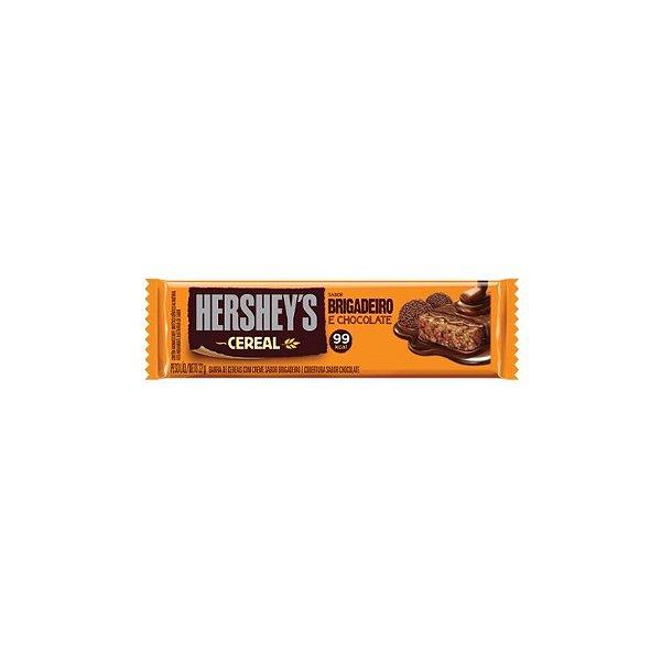 Barra de Cereal Hersheys Brigadeiro e Chocolate 22g