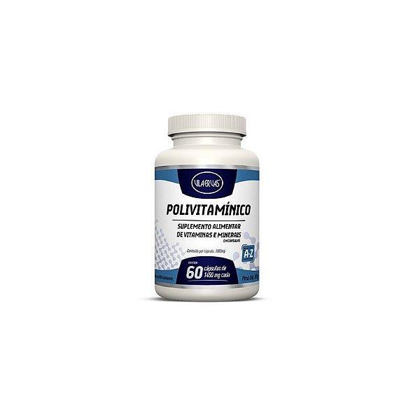 Vitamina e Minerais Vila Ervas 60 Cápsulas