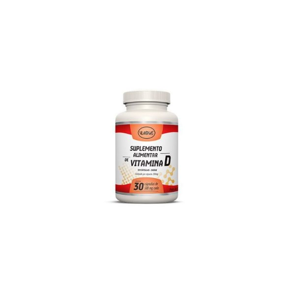 Vitamina D Vila Ervas 30 Cápsulas