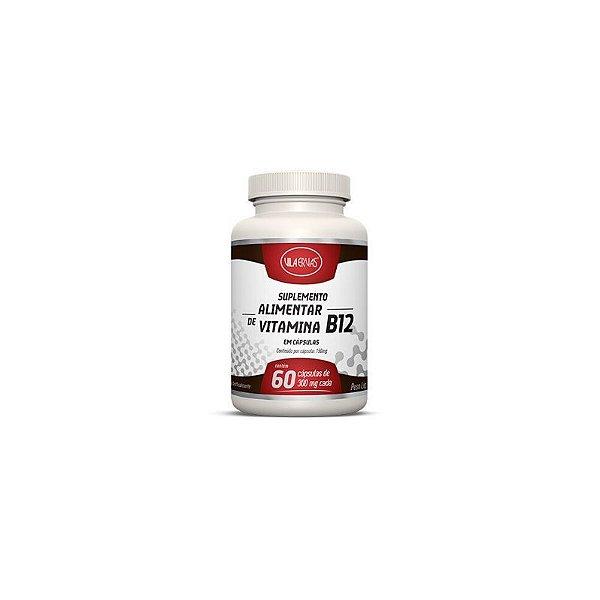 Vitamina B12 Suplemento Alimentar Vila Ervas 60 Cápsulas