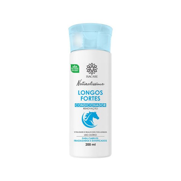 Condicionador Isacare Longos Fortes 200ml
