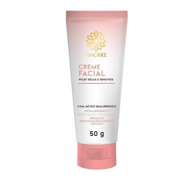 Creme Facial Isacare 50G