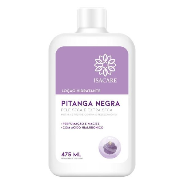 Loção Hidratante Isacare Pitanga Negra 475ML