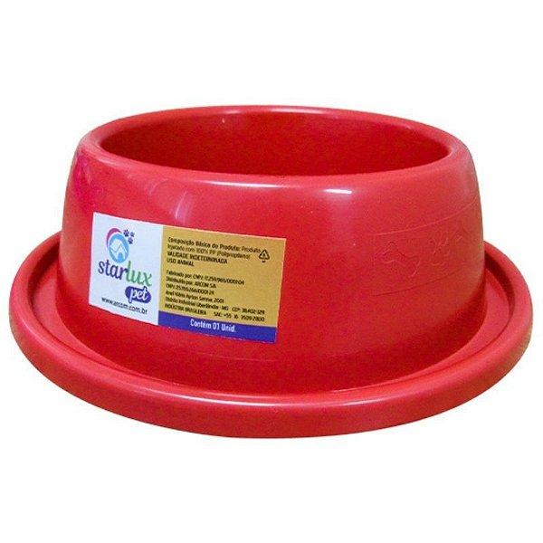 Comedouro Plástico Resistente Antiformiga 350 ML Linha Starlux Pet