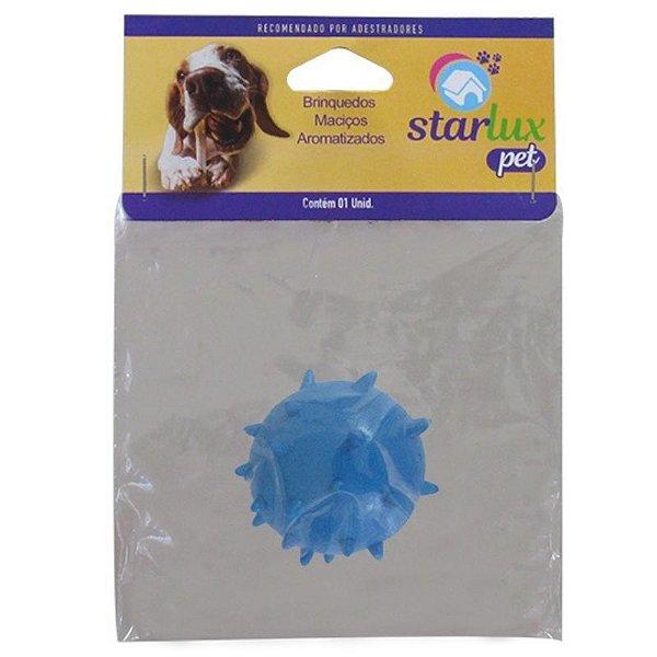 Bola Maciça Para Cachorro Colorida Mamoninha 45mm Linha Starlux Pet