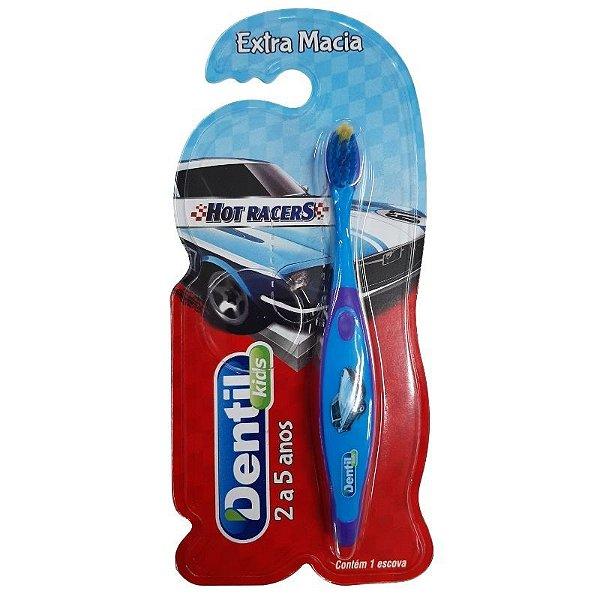 Escova Dentil Kids Hot Racers
