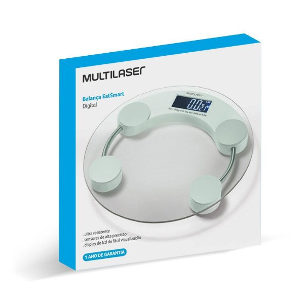 Balança Multilaser Eat Smart HC039