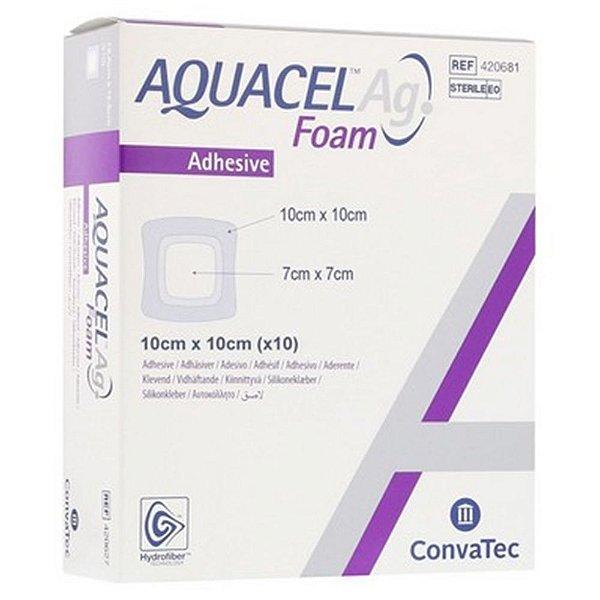 Curativo Convatec Aquacel AG Foam