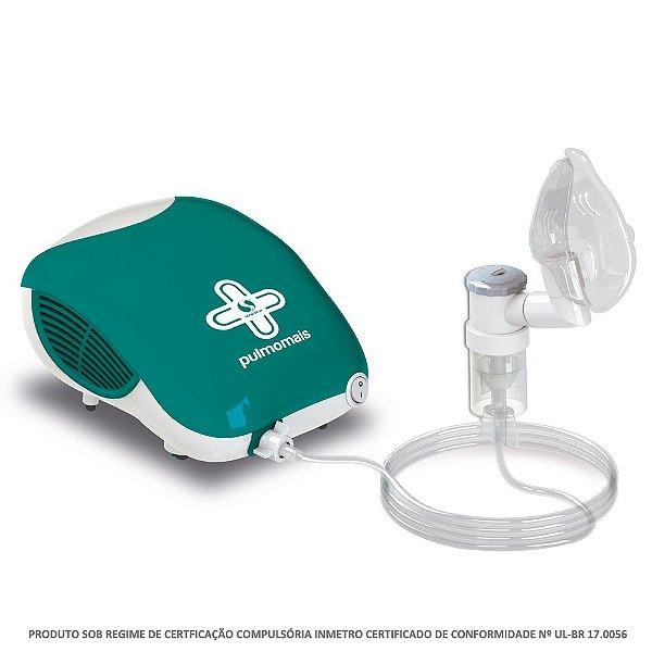 Nebulizador / Inalador Pneumático Pulmomais Soniclear