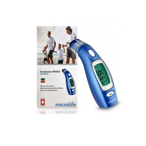 Termômetro Digital Microlife Infravermelho Dual Mode