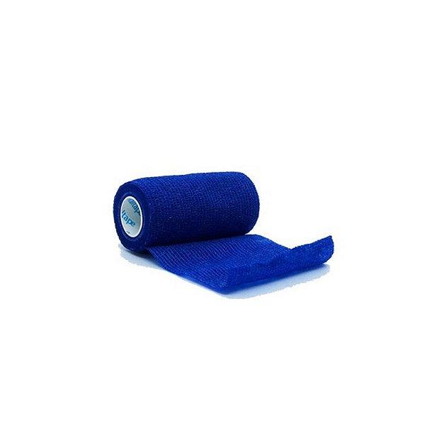 Bandagem Elástica Vitaltape Auto Aderente Coban Azul