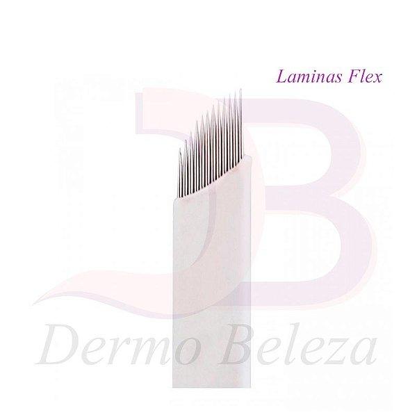 Laminas para Tebori 7 , 9 , 12 , 14 pontas Flex