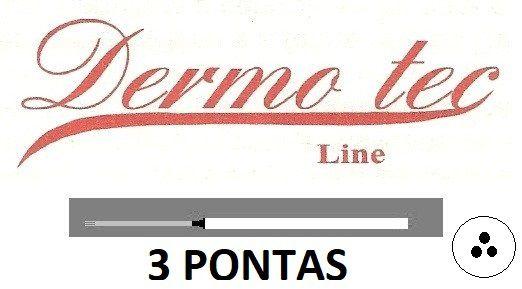 AGULHA DERMOTEC 3 PONTAS
