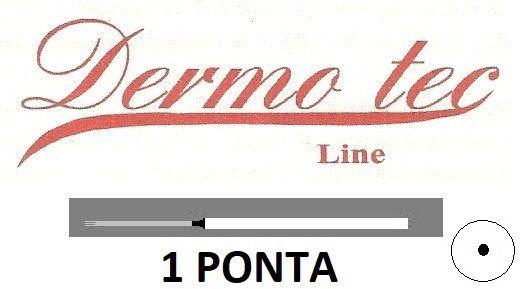 AGULHA DERMOTEC 1 PONTA