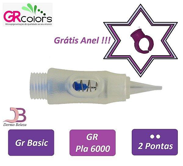 Agulha GR Basic, Pla 6000 ou Classic A, 2 Pontas , Grátis Anel !!!