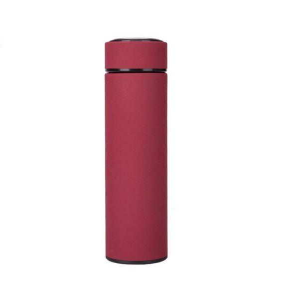 Garrafa de inox 500ml com filtro de inox