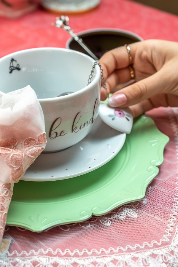 Sousplat para chá - Candy colors