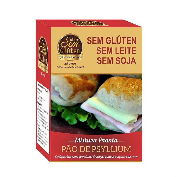 Mistura para Pão de Psyllium Sem Glúten Sem Leite Sem Soja