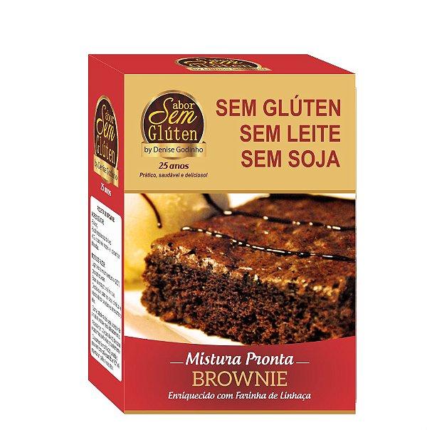 Mistura para Brownie Sem Glúten Sem Leite Sem Soja
