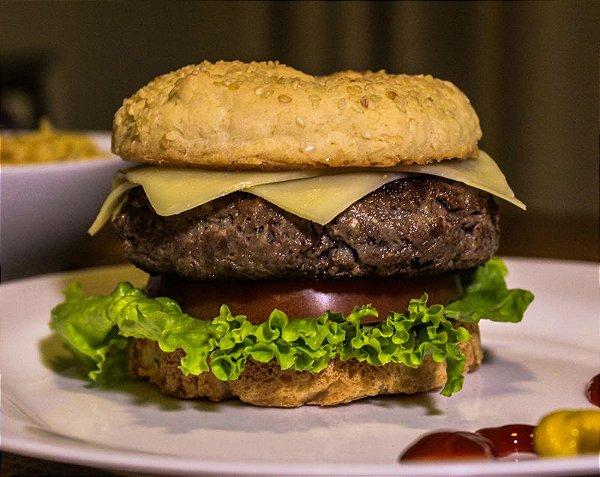 Pão de Hambúrguer Diet Sem Glúten Sem Lactose Sem Açúcar (2 Unidades)