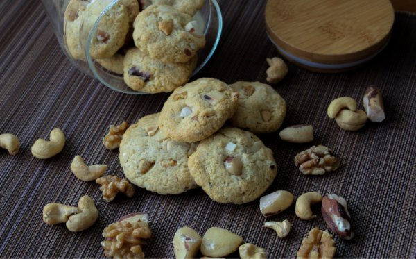 Cookie Sem Glúten Sem Lactose - 100g embalagem