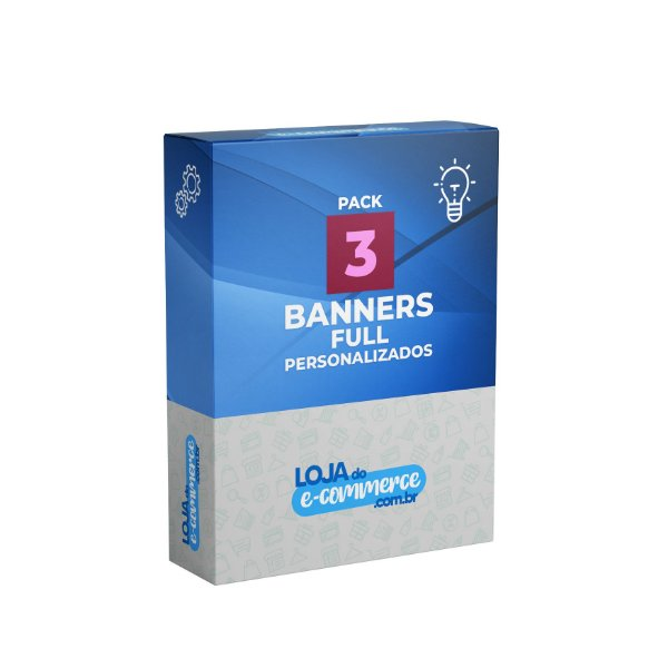 Pacote 3 Banners Full Personalizados