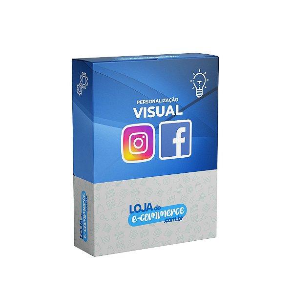Personalização Visual das Redes Sociais Instagram e Facebook