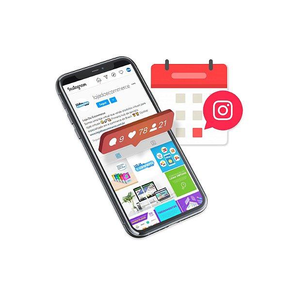 Agendamento de Conteúdo Rede Social Instagram