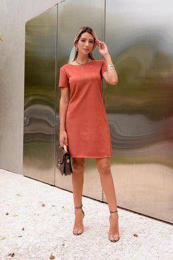 Vestido Suede Heavy Verde - 02163300