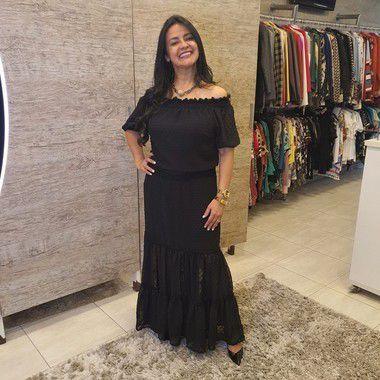 Vestido Longo Três Marias - 200294