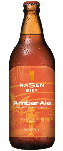 Cerveja Rasen Bier Ambar Ale 600ML