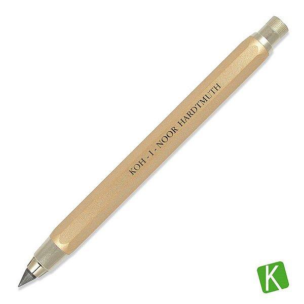 Portaminas Koh-I-Noor 5,6mm Dourada