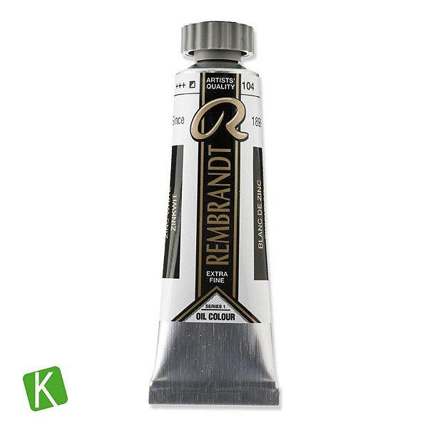 Tinta a Oleo Rembrandt 15ml 104 Zinc White