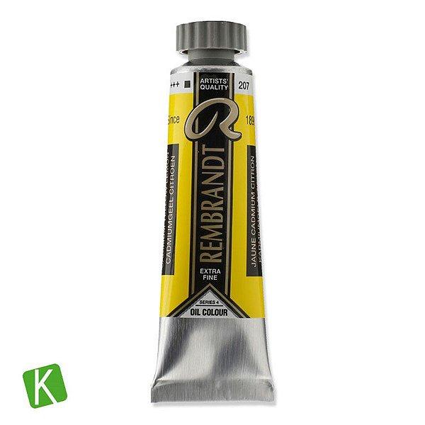 Tinta a Óleo Rembrandt 15ml 207 Cadmium Yellow Lemon