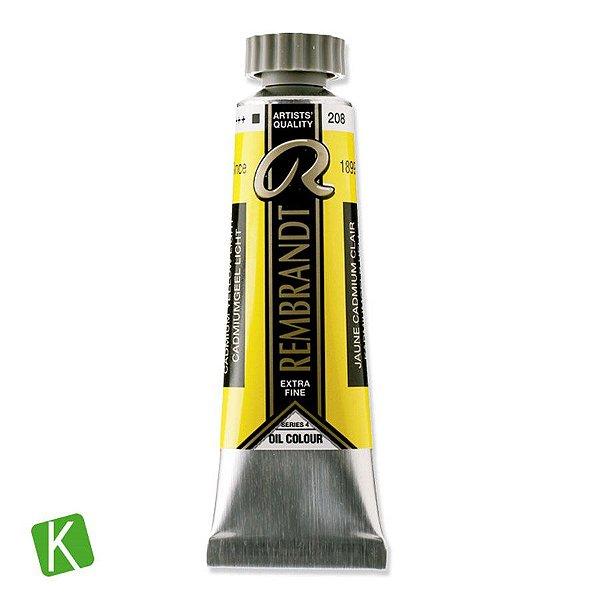 Tinta a Óleo Rembrandt 15ml 208 Cadmium Yellow Light
