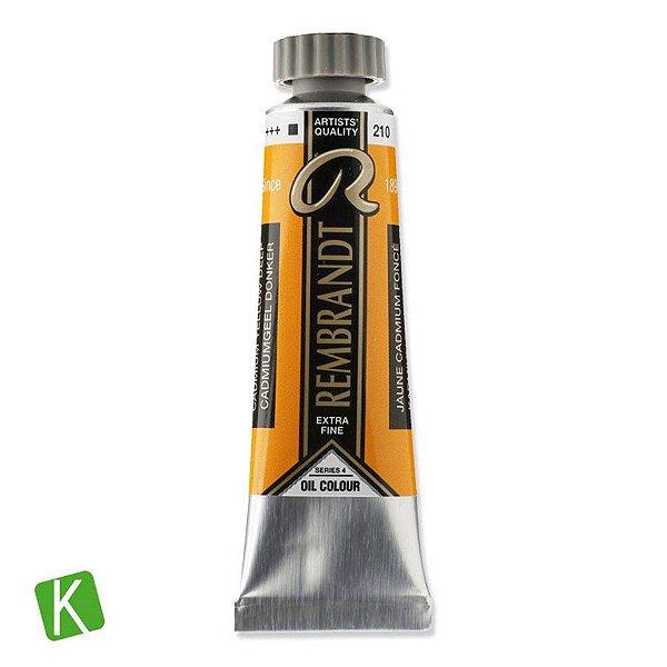 Tinta a Óleo Rembrandt 15ml 210 Cadmium Yellow Deep